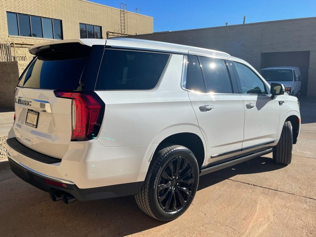 2021 GMC Yukon ceramic coating and paint correction